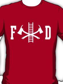 FD Fire Department Logo T-Shirt