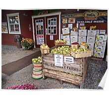 Roadside Produce stand Poster