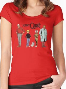 Johnny Quest Women's Fitted Scoop T-Shirt