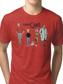 Johnny Quest Tri-blend T-Shirt