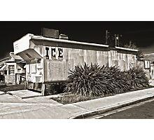 Ice House Photographic Print