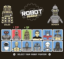 Robot Rumble by thehookshot