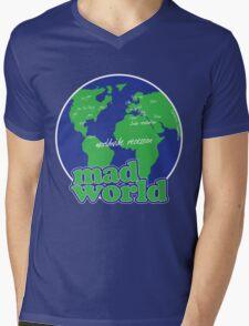 Mad World Mens V-Neck T-Shirt