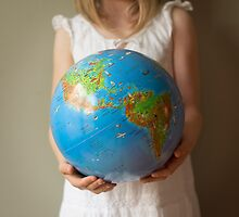 The whole world in her hands by kerryvarnum
