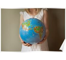The whole world in her hands Poster
