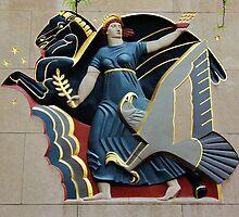 Rockefeller Plaza Artwork by VDLOZIMAGES