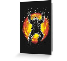 Lost in the space Greeting Card