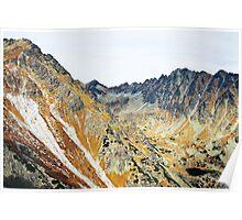 High Tatras in Fall I. Poster
