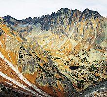 High Tatras in Fall II. by Zuzana Vajdova