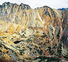 High Tatras in Fall IV. by Zuzana Vajdova