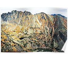 High Tatras in Fall IV. Poster