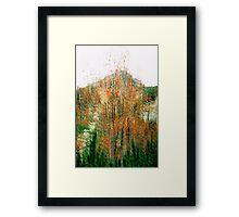 High Tatras in Fall VI. Framed Print