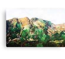 High Tatras in Fall VII. Canvas Print