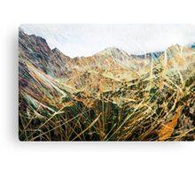 High Tatras in Fall VIII. Canvas Print