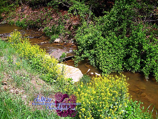 golden stream by LoreLeft27