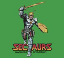 Sectuars Warriors of Symbion - Logo Color Kids Tee