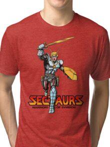 Sectuars Warriors of Symbion - Logo Color Tri-blend T-Shirt