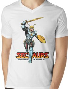 Sectuars Warriors of Symbion - Logo Color Mens V-Neck T-Shirt