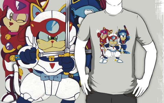 Samurai Pizza Cats - Group Color by DGArt