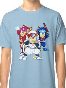 Samurai Pizza Cats - Group Color Classic T-Shirt