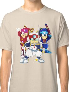 Samurai Pizza Cats - Group Color Classic T-Shirt