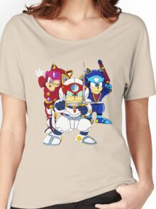 Samurai Pizza Cats - Group Color Women's Relaxed Fit T-Shirt