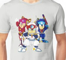 Samurai Pizza Cats - Group Color Unisex T-Shirt