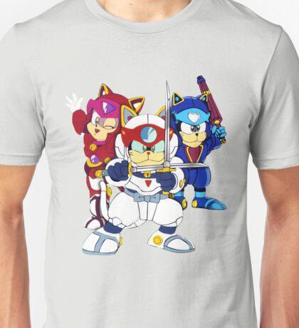 Samurai Pizza Cats - Group Color Unisex T-Shirt