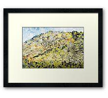 High Tatras in Fall XIII. Framed Print