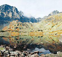 High Tatras in Fall XIV. by Zuzana Vajdova