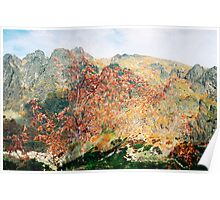 High Tatras in Fall XV. Poster