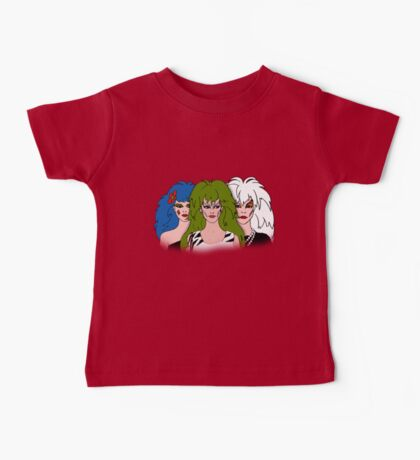 Jem and the Holograms - The Misfits - Group Color Baby Tee