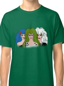 Jem and the Holograms - The Misfits - Group Color Classic T-Shirt