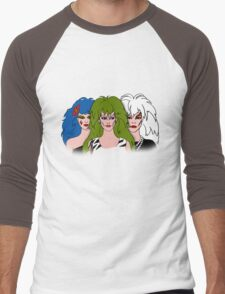 Jem and the Holograms - The Misfits - Group Color Men's Baseball ¾ T-Shirt