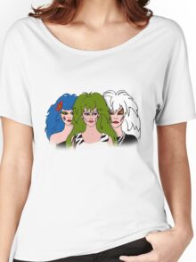 Jem and the Holograms - The Misfits - Group Color Women's Relaxed Fit T-Shirt