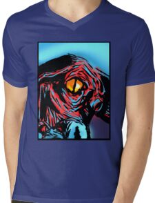 Inspired by - HP Lovecraft Eye of Cthulhu Mens V-Neck T-Shirt