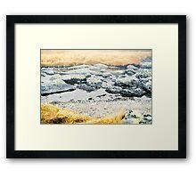 High Tatras in Fall XVI. Framed Print