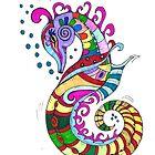 Seahorse  by Deb Coats