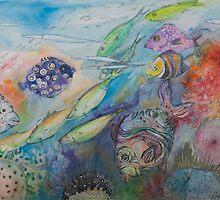 Colour Coral Dance by Vaiva Smite