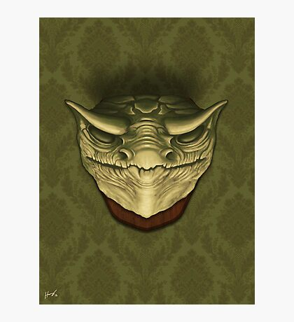 Dragon Head Photographic Print