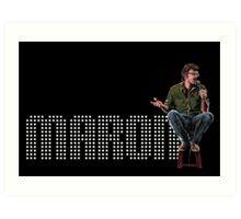 Marc Maron - Comic Timing Art Print