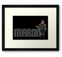 Marc Maron - Comic Timing Framed Print