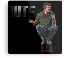 WTF with Marc Maron Metal Print