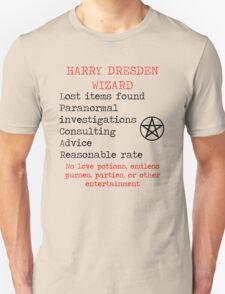 Harry Dresden Business Card T-Shirt