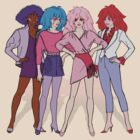 Jem and the Holograms - Group - Color by DGArt