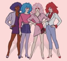Jem and the Holograms - Group - Color One Piece - Long Sleeve