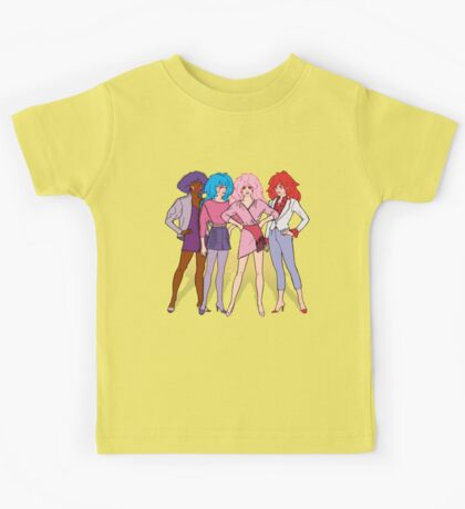 Jem and the Holograms - Group - Color Kids Tee