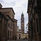 per te cara Anna  che un giorno hai passeggiato in questi luoghi...Italia  - Strada al Duomo - Parma - italyVETRINA rb explore 1 novembre 2013               -.. by Guendalyn
