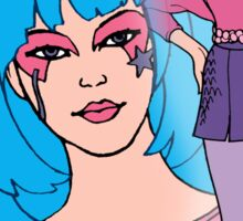 Jem and the Holograms - Aja - Color Sticker