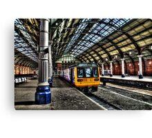 Darlington Bank Top Station Canvas Print